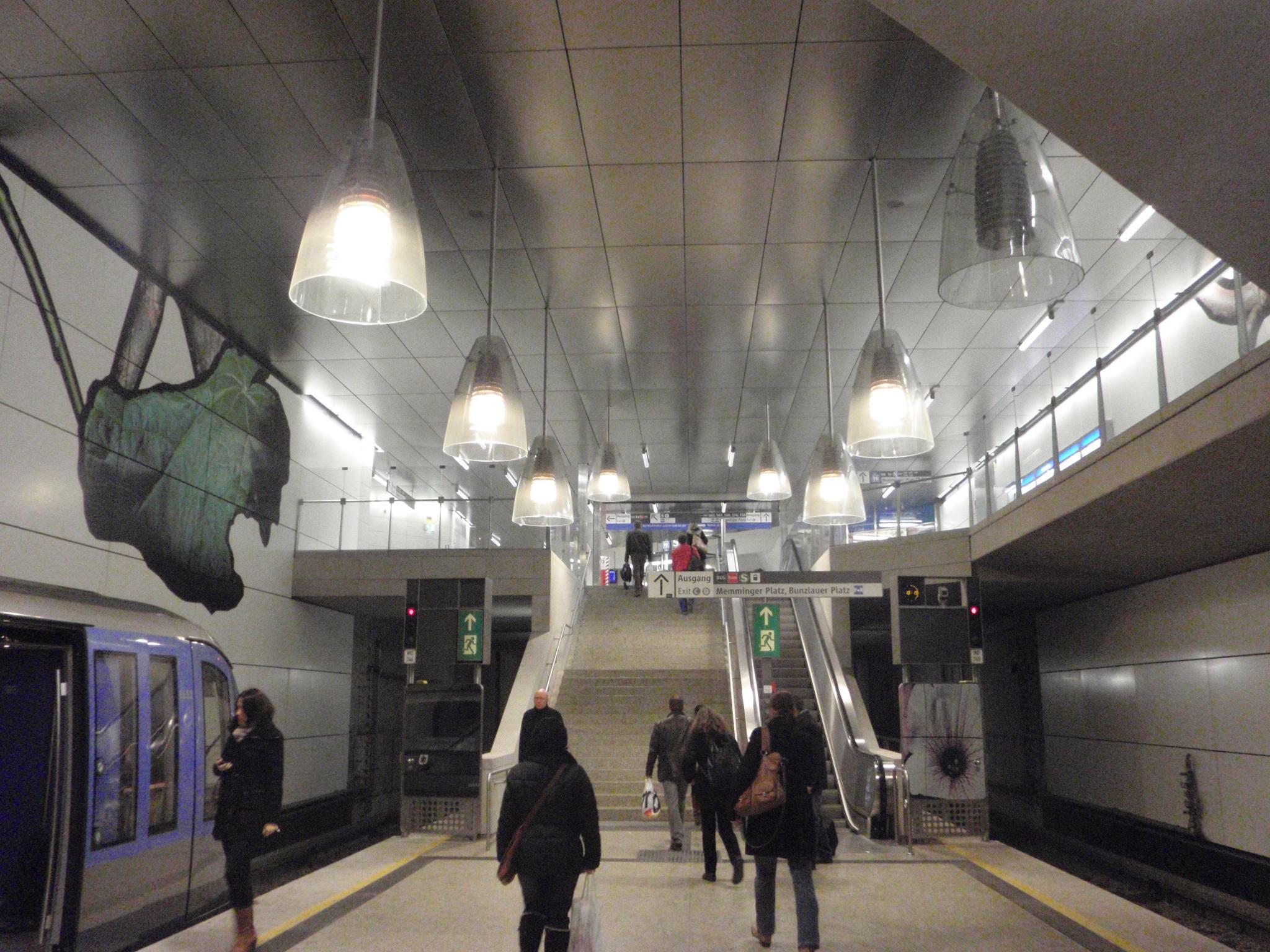 U-Bahnhof Moosach