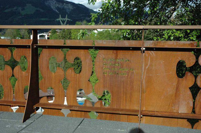 Valenta Metall: Hotel Gasthof zur schönen Aussicht St. Johann in Tirol