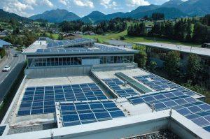 Photovoltaik Anlage bei Valenta Metall