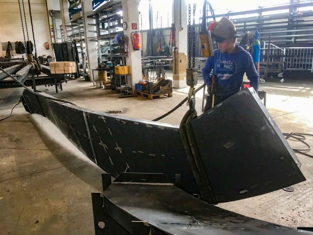 Valenta Metall Anlagenbau Windkanal Bauteil 4
